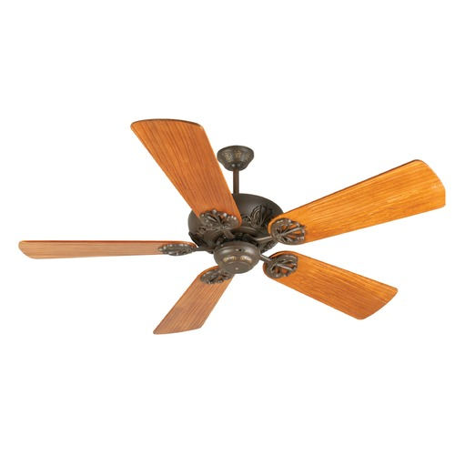 Craftmade Lighting Craftmade Lighting Cordova Aged Bronze Textured Ceiling Fan Without Light K10905