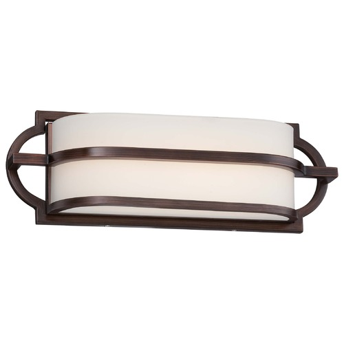 Minka Lighting Minka Mission Grove Dark Brushed Bronze Bathroom Light 382-267B-L