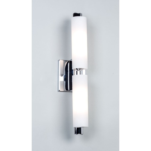 Illuminating Experiences 4970 Series Chrome Bathroom Light - Vertical or Horizontal Mounting 4974