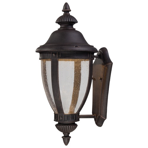 Minka Lavery Minka Lighting Wynterfield Burnt Rust LED Outdoor Wall Light 72411-51A-L