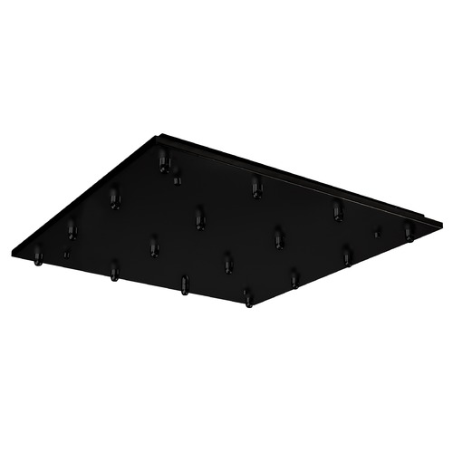 Kuzco Lighting Kuzco Lighting Multi-Port Canopy Black Ceiling Adaptor CNP16AC-BK