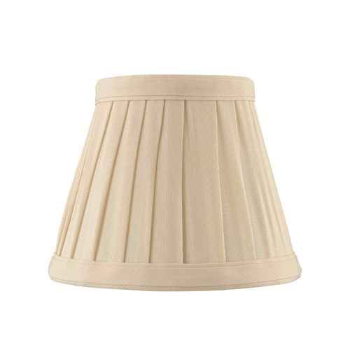 Design Classics Lighting Clip-On Empire Pleated Cream Lamp Shade SH9659