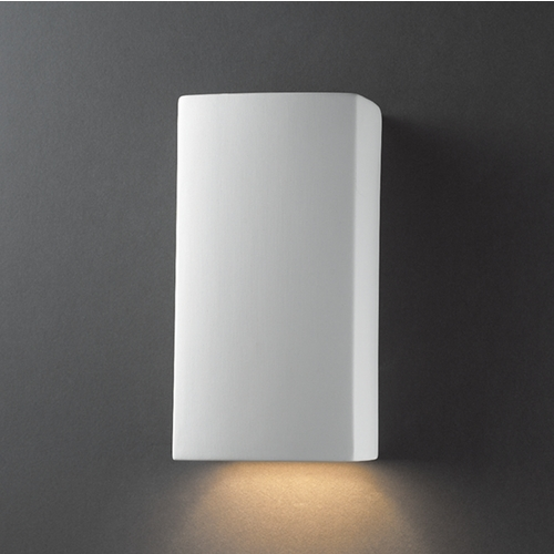 Justice Design Group Sconce Wall Light in Bisque Finish CER-5910-BIS