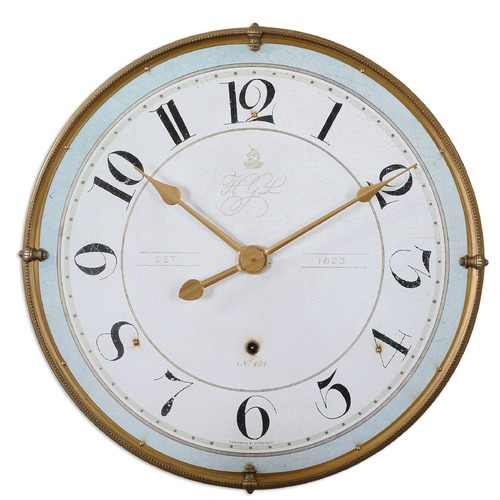 Uttermost Lighting Uttermost Torriana Wall Clock 6091