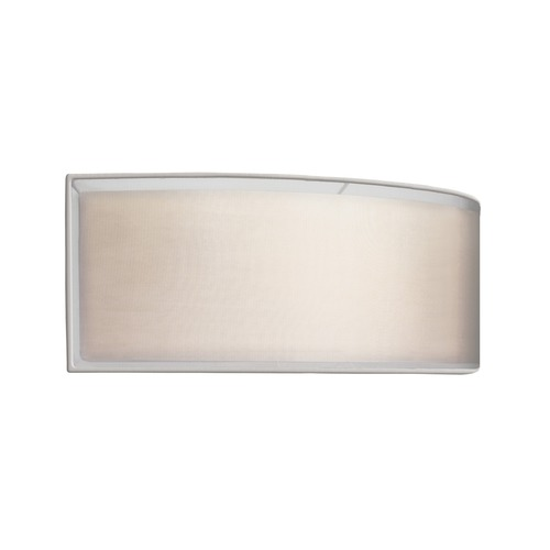Sonneman Lighting Sonneman Puri Satin Nickel ADA 2 Light Sconce with Drum Shade 6018.13