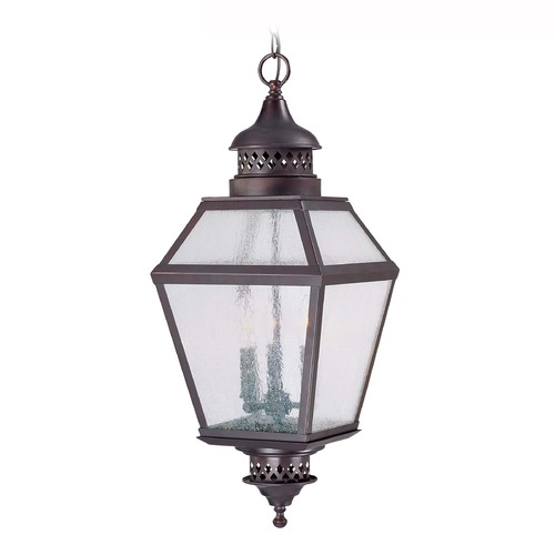 Savoy House Savoy House English Bronze Outdoor Hanging Light 5-771-13