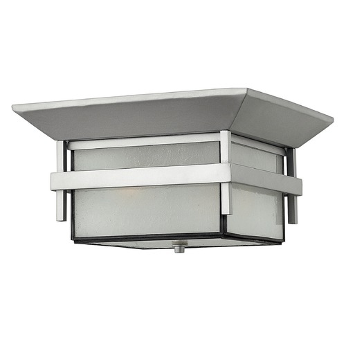 Hinkley Lighting Hinkley Lighting Harbor Titanium LED Close To Ceiling Light 2573TT-LED