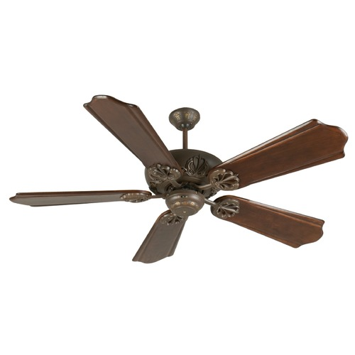 Craftmade Lighting Craftmade Lighting Cordova Aged Bronze Textured Ceiling Fan Without Light K10906