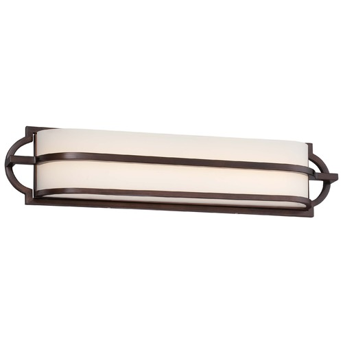 Minka Lavery Minka Mission Grove Dark Brushed Bronze Bathroom Light 383-267B-L