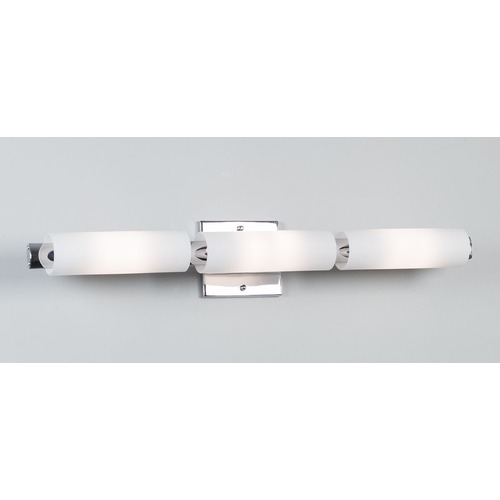Illuminating Experiences 4970 Series Chrome Bathroom Light - Vertical or Horizontal Mounting 4975