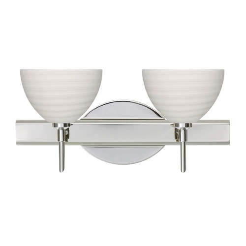 Besa Lighting Besa Lighting Brella Chrome LED Bathroom Light 2SW-4679KR-LED-CR