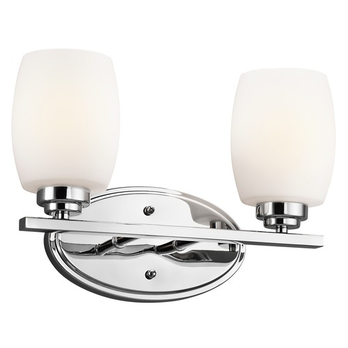 Kichler Lighting Kichler Lighting Eileen Chrome LED Bathroom Light 5097CHL16