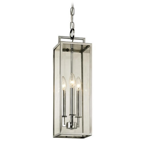 Troy Lighting Troy Lighting Beckham Polished Stainless Outdoor Hanging Light F6537