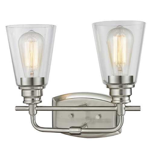 Z-Lite Z-Lite Annora Brushed Nickel Bathroom Light 428-2V-BN