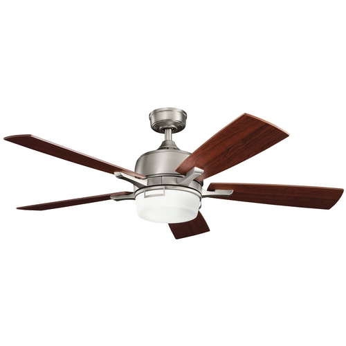 Kichler Lighting Kichler Ceiling Fan with Light Kit in Pewter Finish 300427AP