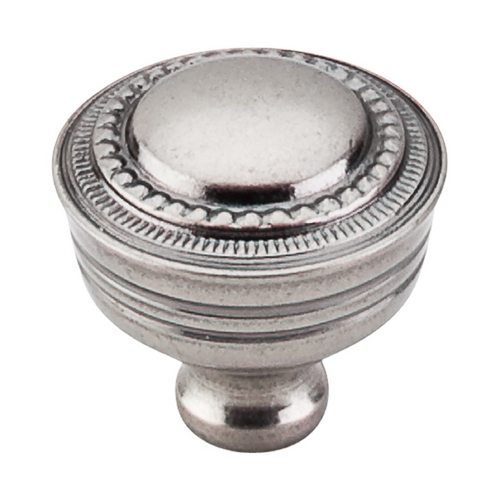 Top Knobs Hardware Cabinet Knob in Pewter Antique Finish M198