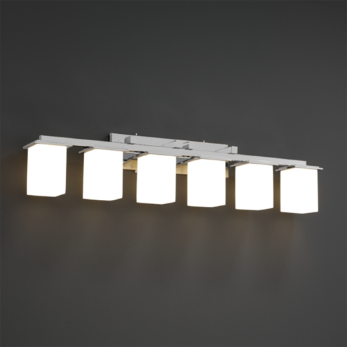 Justice Design Group Justice Design Group Clouds Collection Bathroom Light CLD-8686-15-CROM