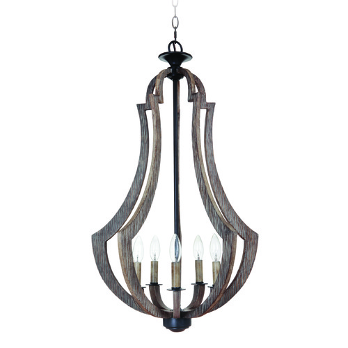 Jeremiah Lighting Jeremiah Winton Weathered Pine, Bronze Pendant Light 35135-WP