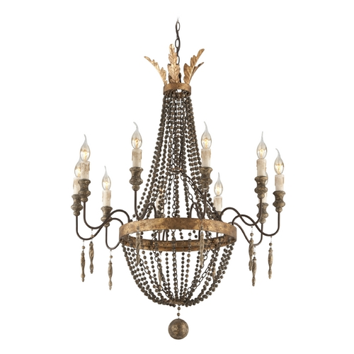 Troy Lighting Chandelier in French Bronze Finish F3536