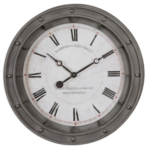 Uttermost Lighting Uttermost Porthole Wall Clock 06092