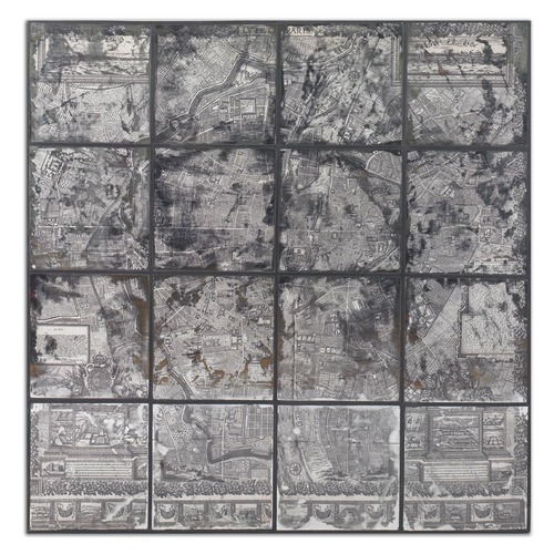 Uttermost Lighting Uttermost Antique Street Map Wall Art 55005