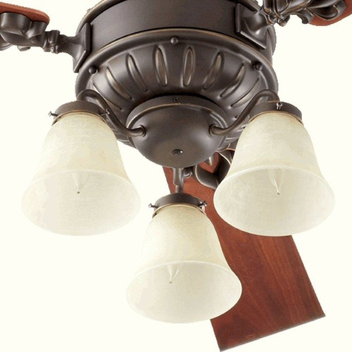 Quorum Lighting Quorum Lighting Brewster Oiled Bronze Fan Light Kit 2360-086