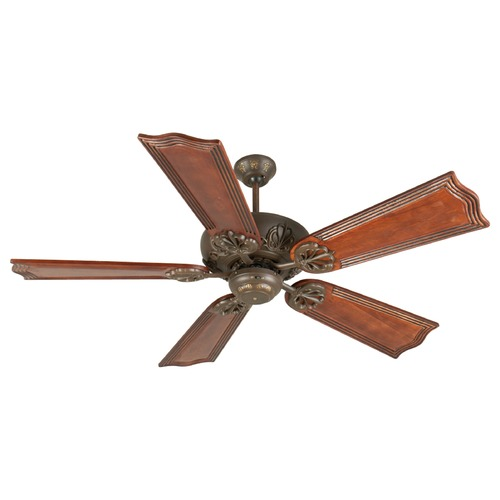 Craftmade Lighting Craftmade Lighting Cordova Aged Bronze Textured Ceiling Fan Without Light K10907