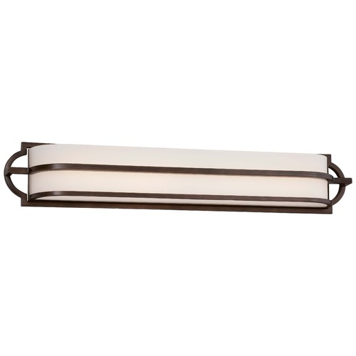 Minka Lavery Minka Mission Grove Dark Brushed Bronze Bathroom Light 384-267B-L