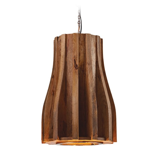 Dimond Lighting Wooden Retro Pendant 985-018