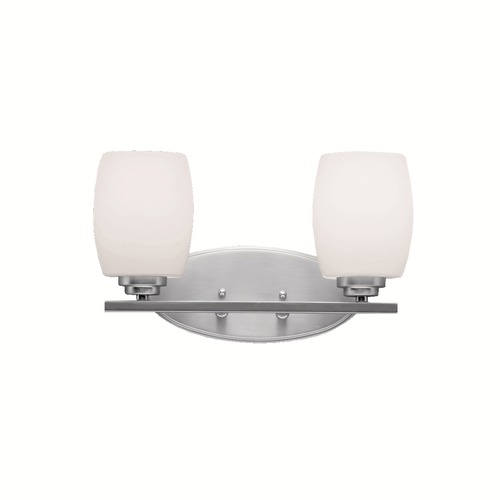 Kichler Lighting Kichler Lighting Eileen Brushed Nickel LED Bathroom Light 5097NIL16