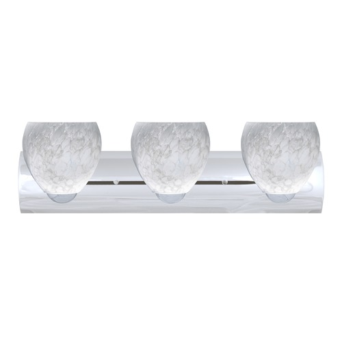 Besa Lighting Besa Lighting Bolla Chrome LED Bathroom Light 3WZ-412219-LED-CR