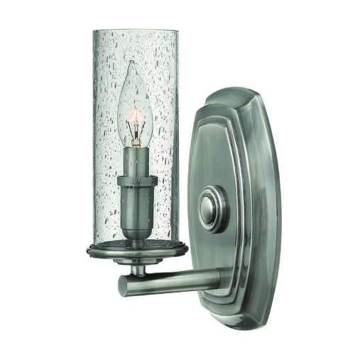 Hinkley Lighting Hinkley Lighting Dakota Polished Antique Nickel Sconce 4780PL