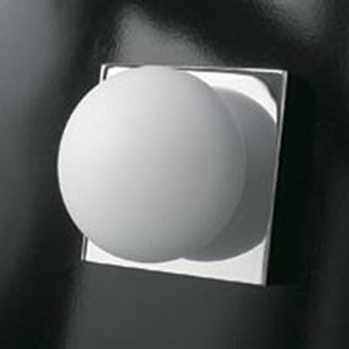Illuminating Experiences Illuminating Experiences Bolla Satin Nickel Sconce BOLLA1SN