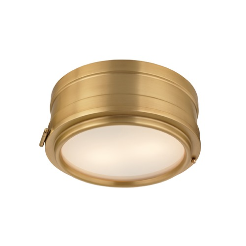 Hudson Valley Lighting Hudson Valley Lighting Rye Aged Brass Flushmount Light 2311-AGB