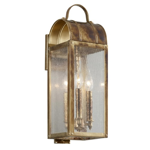 Troy Lighting Troy Lighting Bostonian Historic Brass Outdoor Wall Light B5091HB