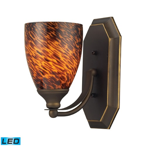 Elk Lighting Elk Lighting Bath and Spa Aged Bronze LED Sconce 570-1B-ES-LED