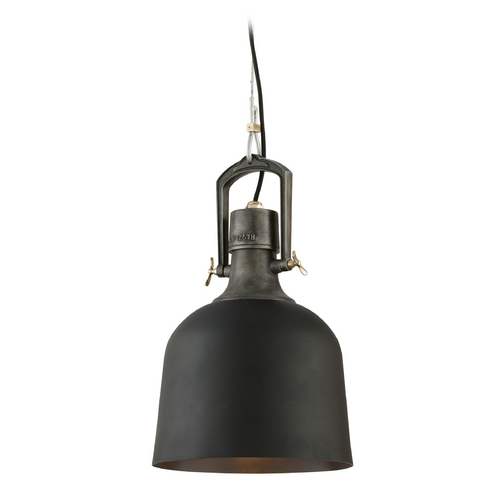 Troy Lighting Pendant Light in Old Silver / Aged Brass Finish F3545