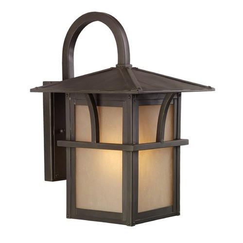 Sea Gull Lighting Sea Gull Lighting Medford Lakes Statuary Bronze LED Outdoor Wall Light 8888191S-51