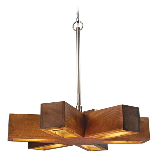Dimond Lighting Retro 6-Light Spoke Pendant 985-023