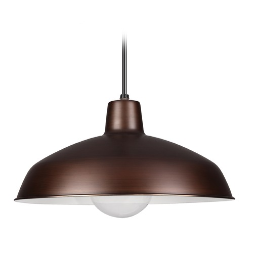 Sea Gull Lighting Sea Gull Copper LED RLM Pendant Light 651991S-63