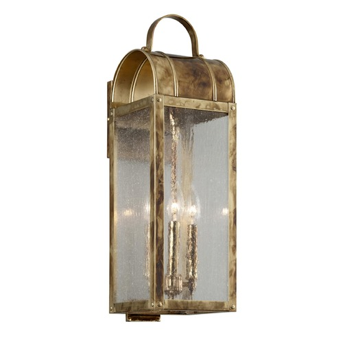 Troy Lighting Troy Lighting Bostonian Historic Brass Outdoor Wall Light B5092HB