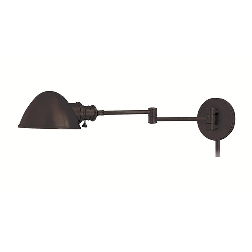 Hudson Valley Lighting Swing Arm Lamp in Old Bronze Finish 6931-OB