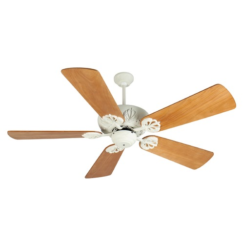 Craftmade Lighting Craftmade Lighting Cordova Antique White Ceiling Fan Without Light K10910