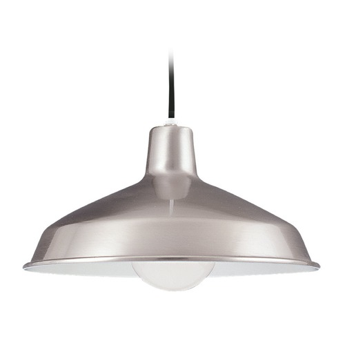 Sea Gull Lighting Sea Gull Stainless LED RLM Pendant Light 651991S-98