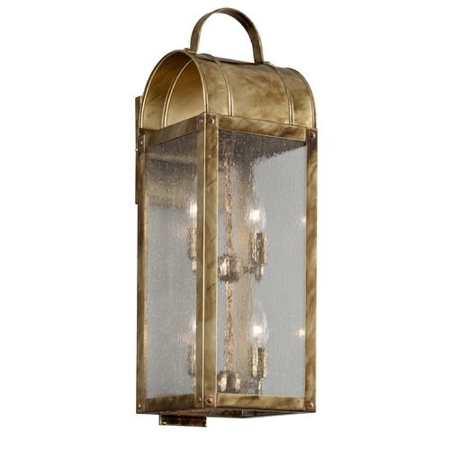 Troy Lighting Troy Lighting Bostonian Historic Brass Outdoor Wall Light B5093HB