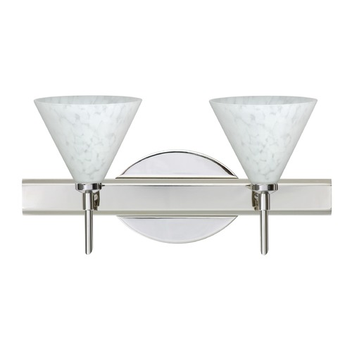 Besa Lighting Besa Lighting Kani Chrome LED Bathroom Light 2SW-512119-LED-CR