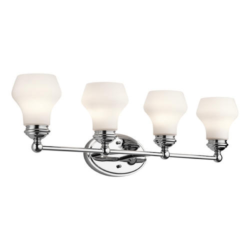 Kichler Lighting Kichler Lighting Currituck Chrome Bathroom Light 45489CH