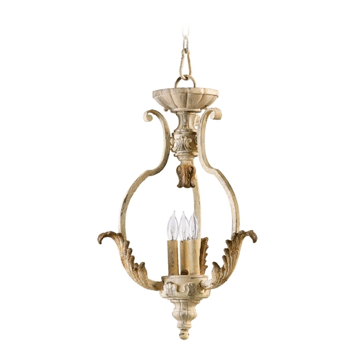 Quorum Lighting Quorum Lighting Florence Persian White Pendant Light 6837-3-70
