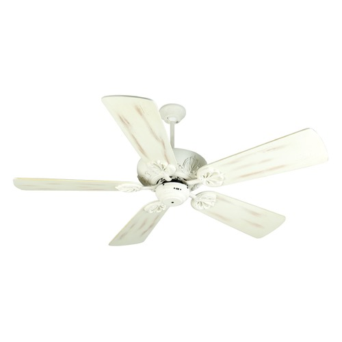 Craftmade Lighting Craftmade Lighting Cordova Antique White Ceiling Fan Without Light K10911