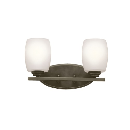 Kichler Lighting Kichler Lighting Eileen Olde Bronze LED Bathroom Light 5097OZSL16